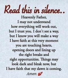Prayer Scriptures, Bible Prayers, Faith Prayer, God Prayer, Prayer Quotes, Power Of Prayer, Bible Verses Quotes, Spiritual Quotes, Faith Quotes