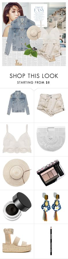 """""""The last days of summer."""" by e-laysian ❤ liked on Polyvore featuring UNIF, OneTeaspoon, Lancôme, Napoleon Perdis, Dolce&Gabbana and rag & bone"""