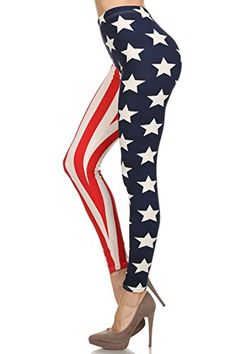 4273721ab0ebf Trendyfriday Women's One Size Full Length Print Leggings (AZTEC DIAMOND  BLACK)