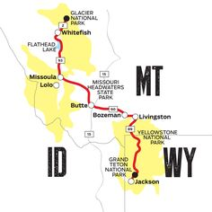 The National Parks Road Tour: Jackson to Glacier
