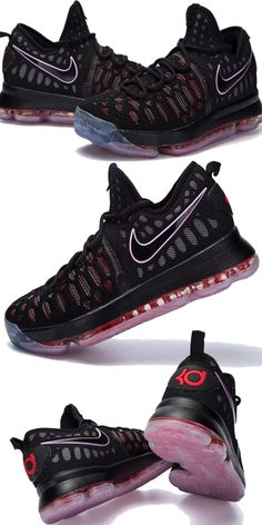 #NikeKevinDurant #BasketballShoes #AllStarGame #LeisureSneakersInBlack #MensKD9 #OutdoorSneakers