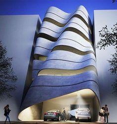 The sway house designed by infact studio. #newdelhi #india www.amazingarchitecture.com ✔️ www.facebook.com/amazingarchitecture A…