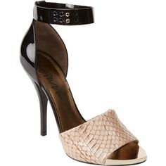 Lanvin Bi-Color Ankle-Strap Sandals at Barneys.com
