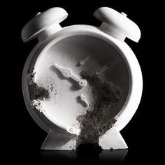 Daniel Arsham Clock 2015