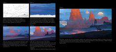 Illustration Breakdown, Raphael Lacoste on ArtStation at https://www.artstation.com/artwork/zQyX6