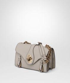 BOTTEGA VENETA CITY KNOT BAG IN CEMENT CALF Shoulder or hobo bag D rp Calves  42ddbe81cefc4