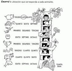 ...Aula Seño Sory...: Números ordinales