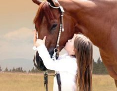 """Every horse deserves, at least once in their life, to be loved by a little girl."""