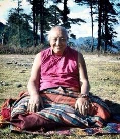 """Enlightenment ~ Dilgo Khyentse Rinpoche http://justdharma.com/s/p5ulq  Enlightenment will be ours when we are able to care for others as much as we now care of ourselves, and ignore ourselves to the same extent that we now ignore others.  – Dilgo Khyentse Rinpoche  from the book """"Enlightened Courage: An Explanation of the Seven-Point Mind Training"""" ISBN: 978-1559392532  -"""