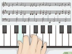 Comment jouer du piano (avec images) - wikiHow Carnegie Hall, Piano Lessons, Music Lessons, Jouer Du Piano, Used Piano, Download Sheet Music, C Major, Playing Piano, Easy Piano