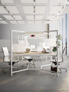 Office Decor Professional Interior Design is extremely important for your home. Whether you pick the Corporate Office Design Executive or Modern Office Design Home, you will make the best Small Office Design Workspaces for your own life. Corporate Office Design, Modern Office Design, Office Interior Design, Office Interiors, Modern Offices, Office Designs, Interior Ideas, Loft Office, Office Plan