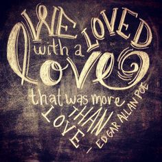 Valentine's chalk art for the kitchen