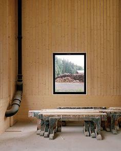 Seilerlinhart Architekten, Arkitekturfotograf Rasmus Norlander · The Wooden Hall · Divisare