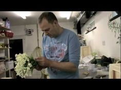 Lily of the Valley Wedding Bouquet - rarely recommend to DIY brides.  Very expensive - a single slender stem can run upwards of $9 - $10 each or more!  Note he makes the flower the morning of the wedding.  Usually not a good choice for DIY brides.