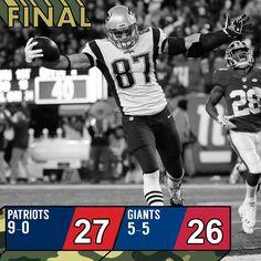 What a game. #NEvsNYG : Julio Cortez/AP @Patriots
