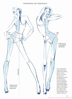 Body Fashion13 - Supporting Leg Variations