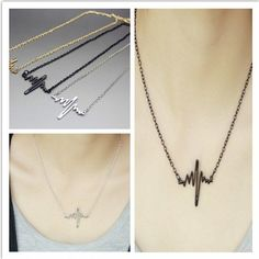 HEARTBEAT NECKLACE On thetemplewolf.com now!  #bohojewllery #irishjewellery #irishshop #boho