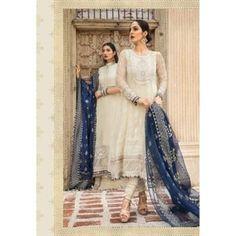 Pakistani Indian Wedding dresses off White maria b embroidery | Etsy Pakistani Mehndi Dress, Pakistani Wedding Dresses, Indian Wedding Outfits, Indian Outfits, Pakistani Bridal, Party Wear Dresses, Wedding Party Dresses, Bridal Dresses, Shadi Dresses