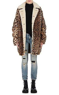R13 Hunting Faux-Fur Peacoat - Coats - 505282390