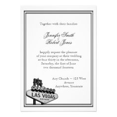 Las Vegas Destination Wedding Invitation Reviewlowest price Fast Shipping and save your money Now!!...