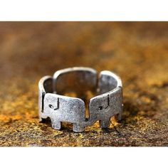 Lucky Elephant Ring - Available Now!<<< I know this isn't a drawing tattoo or graffiti but it is hella adorable!!!!!!