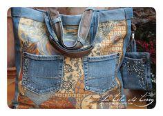 Borsa in jeans.