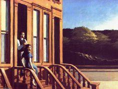 Atardecer en los Brownstones, 1956