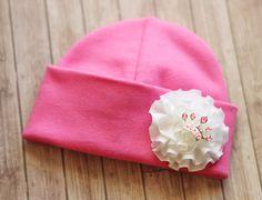 Princess crown hat Cotton Stretch Hat Made to fit by UniqueKidz