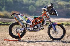 """KTM 450 Rally Bike"" from ""1000PS.at"" home >http://www.1000ps.at/"