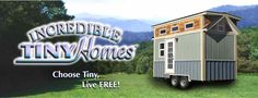 We build tiny houses for those who choose a simpler lifestyle.