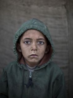 Waheed Wazir, age 6.   21 Powerful Portraits Of Afghan Refugee Children