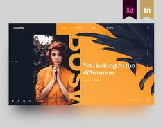 How to Design the Right Kind of Web Design Portfolio For Your Business? Website Design Inspiration, Website Design Layout, Graphic Design Inspiration, Layout Design, Daily Inspiration, Ad Layout, Web Design Trends, Ui Ux Design, Brochure Design