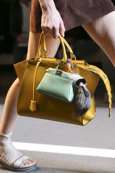 Ways To Wear: Multiple Bags autumn/winter 2014 trend (Vogue.com UK)