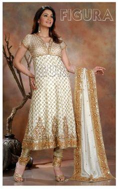 Designer Anarkali Churidar Dresses
