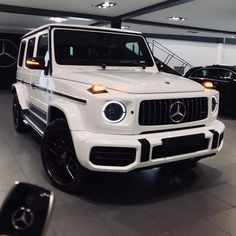 Mercedes-Benz Source by Luxury Sports Cars, Top Luxury Cars, Luxury Suv, Bmw Autos, Lux Cars, Benz G, Pretty Cars, G Class, Car Goals