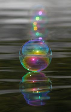 Singular Bubble by Cathie Douglas