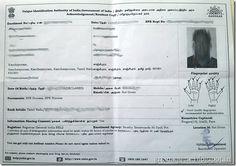 Aadhaar Card Enrollment Slip Lost How To Check Status Www Uidai Gov In Aadhar Card How To Apply Cards