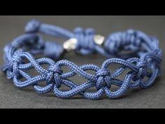 Keychain knot made of paracord Jewelry Knots, Bracelet Knots, Bracelet Crafts, Macrame Jewelry, Jewelry Crafts, Macrame Knots, Jewellery, Dainty Jewelry, Diamond Jewelry