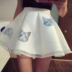 Купить товарНовинка женщин сладкие юбка кошки печатных мини юбки летом опрятный стиль элегантные юбки дикий тонкий бальное платье юбка Y0621 25D в категории Юбкина AliExpress.     Другое летнее 2015 юбки дамы            Плиссированная юбка плюс размер            Женщины Новый 2015 юб