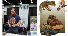 Artist Lucas Elliott on Creativity, Comics, and the Alaskan Wilderness - Geeks WorldWide