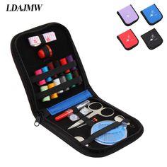 LDAJMW Portable Multi-function Travel Small items Sorting Drawer Organizers Household Sewing Box Set Sewing Kit Mini Storage bag #Affiliate