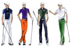 Preview the RLX Golf looks that our golf Ambassador Billy Horschel will be wearing at The Open Championship this week