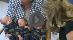 Sacramento Calif Mom gives birth to world's heaviest triplets. Newborn Triplets, Twins, Three Boys, How Big Is Baby, World Records, Precious Moments, Boys Who, Big Day, Birth
