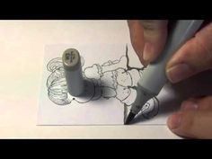 How to color ground with Copic Marker - Part III Wall