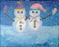 SNOW BUDDIES By Robin Cote.. very fun..and super for the holidays.