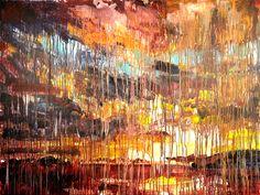 Chrissy Angliker; Sunset II / acrylic on canvas