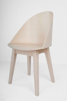 Simple chair by Nicholas Ozemba. #design #home #furniture