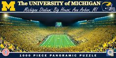 Michigan Puzzle - 1,000 Piece Panoramic, $19.95