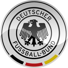 Available as T-Shirts & Hoodies, Stickers, and Kids Clothes Football Team Logos, Soccer Logo, Football Tops, Sport Football, Sports Logo, Germany National Football Team, Dfb Team, Sports Signs, Badge Logo