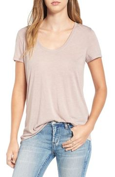 BP. Scoop Neck Boyfriend Tee (2 for $28) available at #Nordstrom
